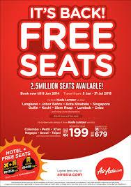 airasia singapore promo more reason to fly as free seats are back airasia