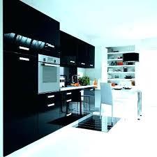 meuble haut cuisine noir laqué meuble de cuisine noir meuble haut cuisine noir laquac meuble haut