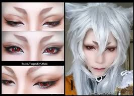kogitsunemaru eye makeup yuegene yuegene kogitsunemaru cosplay photo worldcosplay
