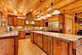 Log Cabin Kitchen Ideas 16 Amazing Log House Kitchens You To See Tin Pig