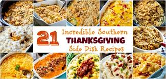 southern thanksgiving side dish recipes spicy