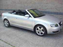 audi a4 2004 silver used audi a4 2004 petrol 1 8t sport 2dr convertible silver manual