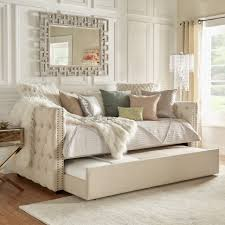 bedroom winsome white wood stained kids daybeds with trundle bed