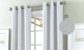 White Darkening Curtains Grommet White Blackout Curtains Leandrocortese Info