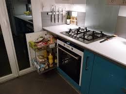 prise angle cuisine bar sur mesure meuble hotte armoire épicerie prise d angle