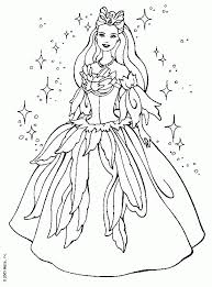 barbie christmas coloring pages coloring