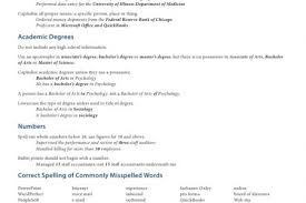 Resume Packet Resume Workshop Reentrycorps