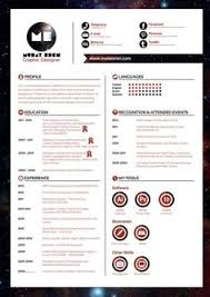 Example Of Creative Resume by 30 Examples Of Creative Graphic Design Resumes U2026 Resumes
