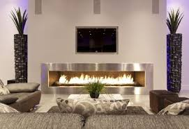 contemporary european living room with modern fireplace 3514