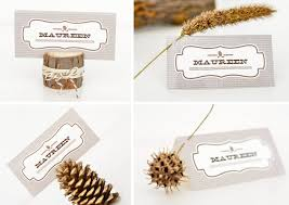 Table Card Holders by Ruff Draft Creating Fall Place Card Holders U0026 Centerpieces For A