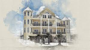 architecture sketch photoshop action youtube