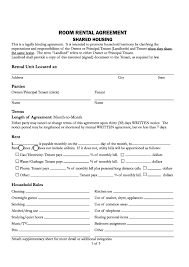 Termination Of Lease Notice by Free Santa Cruz County California Room Rental Agreement Pdf
