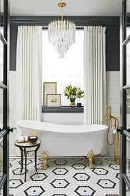 this glam bathroom lets you relax in style glamorous bathroom