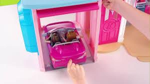 Vintage Barbie Dream House Youtube by Barbie Mattel Barbie Dream House Walmart Com