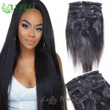Yaki Clip In Human Hair Extensions by Clip In Hair Extensions