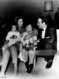 humphrey bogart and lauren bacall with their children stephen and