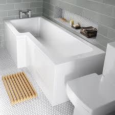 100 p shaped shower bath 1700 origins hstead p shape shower