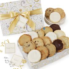 cookie gift boxes dazzling swirls cookie box