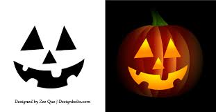 10 best images of simple pumpkin carving patterns printable free