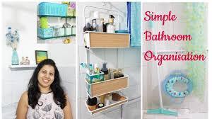 small bathroom organization indian bathroom storage ideas