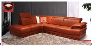 orange leather sectional sofa popular of orange leather sofa set modern orange sectional leather