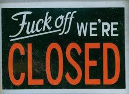 12 hilarious closed signs closed signs hilarious signs oddee