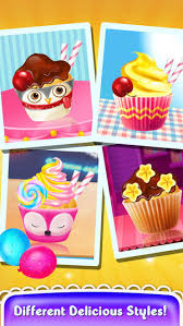 jeux de cuisine de cupcake jeux de cuisine gâteau cupcake jeux pour enfants dans l app store