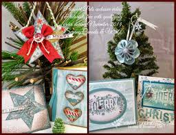 christmas ornaments with rosette die frenchie u0027s stamps