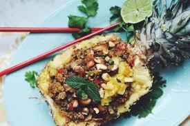 grilled cauliflower tacos with mango slaw u0026 avocado crema for food