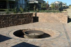 Patio Ideas Using Pavers by Decorating Awesome Basalite Concrete Products For Home Decoration