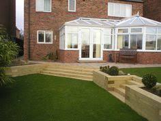 Split Level Garden Ideas Garden Design Ideas Using Sleepers