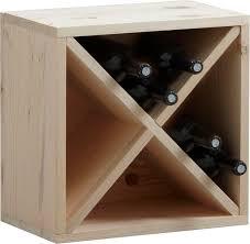 casier rangement cuisine casier de rangement 16 bouteilles en epicéa