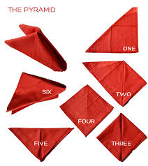 how to fold table napkins one minute guide to napkin folding diy boston boston table napkin