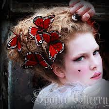 butterfly hair accessorie for the summer butterfly hair clip monarch