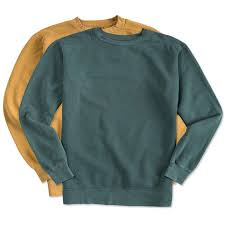 custom comfort colors crewneck sweatshirt design crewneck
