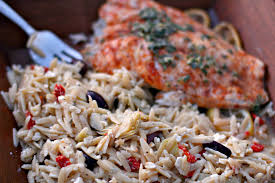 greek thanksgiving baked red snapper with greek orzo high heels to wheels