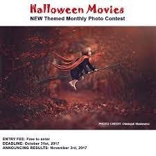 halloween movies u201d monthly photo contest is open for submissions