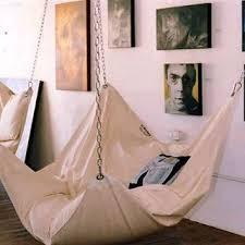 le beanock beanbag u0026 hammock combo contemporary furniture