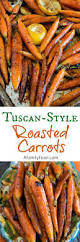 style roasted carrots a family feast