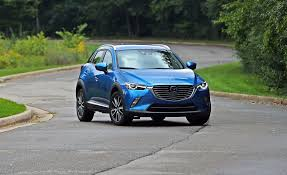 mazda cx3 interior 2018 mazda cx 3 in depth model review car and driver