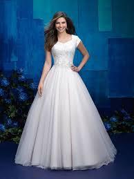 wedding dress eng sub modest wedding dress in aline or ballgown shape for lds wedding