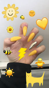 best 25 yellow nails ideas on pinterest long nails yellow