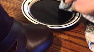 dying synthetic leather and suede with acrylic paint crafts