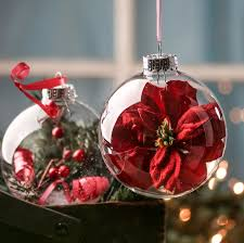 ready to personalize clear glass ornaments