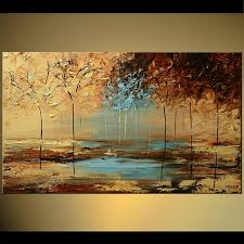original abstract modern landscape made landscape painting original contemporary modern by osnat as