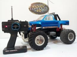 rc monster truck nitro rc rc kyosho big brute 1988 maxda b2000 monster truck youtube