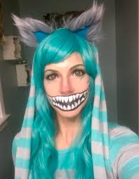 Cool Halloween Makeup by Cool Halloween Makeup Diy Cheshire Cat Costume Cheshire Cat