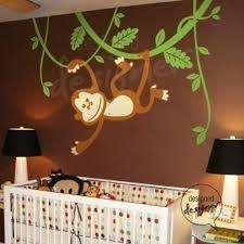 Monkey Decor For Nursery Baby Room Decor Nursery Decorating Ideas Monkey Monkeys Baby Boy