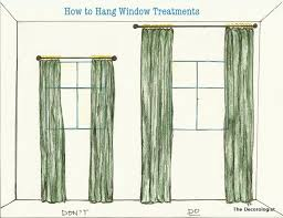 Height Of Curtains Inspiration Attractive Hanging Curtains At Ceiling Height Inspiration With The