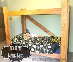 Make Bunk Beds Diy Bunk Beds Do Small Things With Great